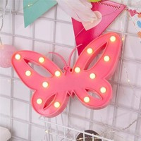 Butterfly LED Lamp