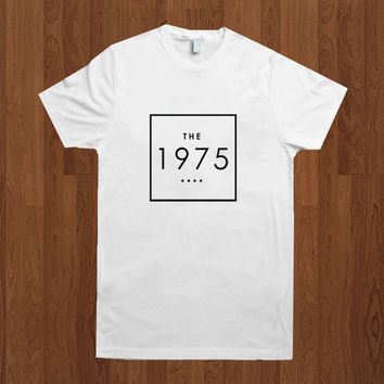 Hot The 1975 Band Shirt The 1975 Shirt Logo Inspired Men T-shirt clothing cotton Size S, M, L, Xl, 2Xl, 3Xl, 4Xl, 5Xl