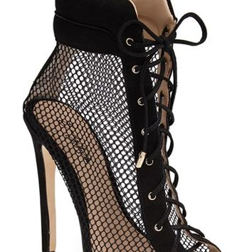 Emily B x ZiGiNY 'Dream' Mesh Bootie (Women)