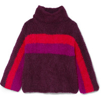 Rosie Assoulin - Striped alpaca-blend sweater