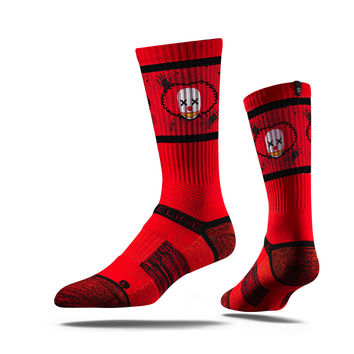Strideline® Assembly Clown Hunter, Strapped Fit 2.0, Red Crew Socks, NEW