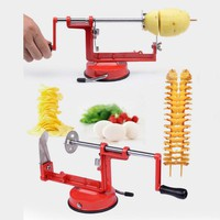 Kitchen Accessories Potato Slicer Stainless Steel Fruit Slicer Fruit And Vegetable Knife Manual Metal Home Kitchen Utensils