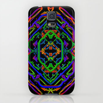 Neon Doodle iPhone & iPod Case by Lyle Hatch