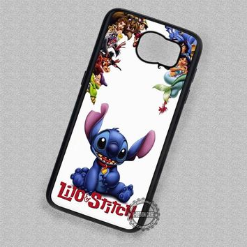 The Big Family Cartoon Lilo and Stitch - Samsung Galaxy S7 S6 S5 Note 7 Cases & Covers