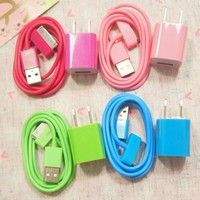 Rose Charger Cable for iPhone 4/4s