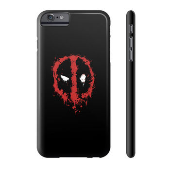 Deadpool Splatter Phone Case