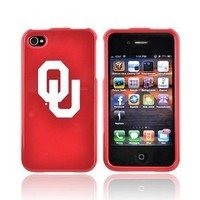OKLAHOMA SOONERS For NCAA iPhone 4 Hard Case Cover