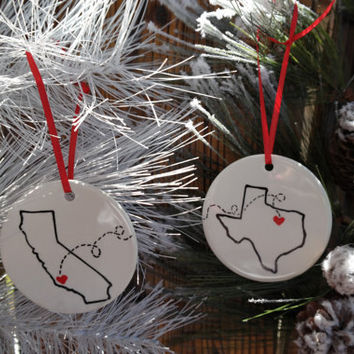 miss you christmas ornament best friends christmas gift movin