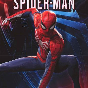 Spider-Man Action Pose Marvel Comics Poster 22x34