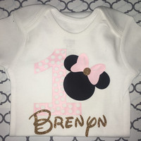 Minnie Mouse First Birthday TOP
