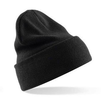 Summer Casual Winter Warm Plain Beanie Hats Women Men Cap Slouchy Hat Knit Hat Caps