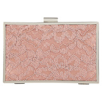 Buy Kaliko Box Clutch Handbag, Orange online at John Lewis
