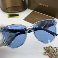 VONEYW7 gucci new large frame polarized sunglasses fashion colorful marine film f a sdyj no 3