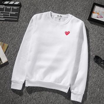 Heart shape print brand hoodies for men new fashion winter autumn long sleeve hoodies men tide pullover o neck t shirts for men