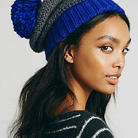 Free People Womens Bowsman Pom Beanie