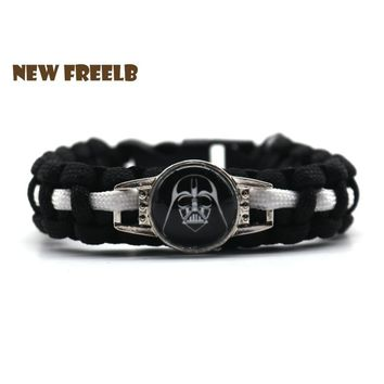 Star Wars Force Episode 1 2 3 4 5 2018 Personalized Jewelry : The Last Jedi Bracelets Darth Vader Stormtrooper Movie Collection for Unisex Fans 9 Styles AT_72_6