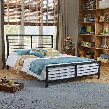 Faith Metal Platform Bed Frame, Queen - Walmart.com