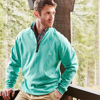 DownpourDry Cotton Pullover - 1/4 Zip