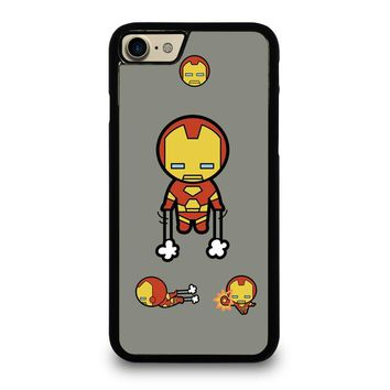 IRON MAN KAWAII Marvel Avengers Case for iPhone iPod Samsung Galaxy