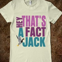 Hey Thats A Fact Jack Pink and Green