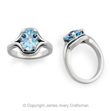 Adriana Ring with Blue Topaz from James Avery
