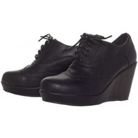DEATH OR GLORY WEDGES BLK
