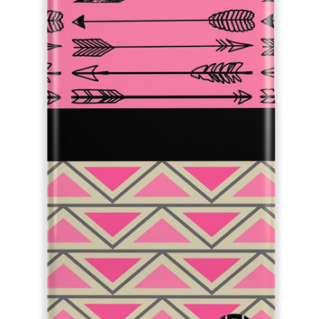 AZTEC PRINT WITH ARROWS AND CHEVRON - MONOGRAMMED IPHONE CASE