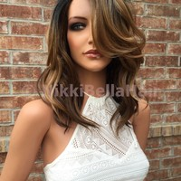 Jana Babylights Human Hair Blend Full Wig