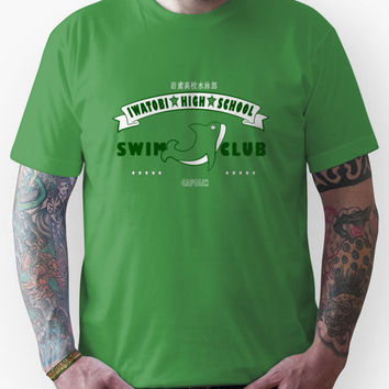 Free! Iwatobi Swim Club Shirt (Makoto, Captain) green Unisex T-Shirt