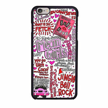 one direction mean girl lyrics iphone 6 6s 4 4s 5 5s 6 plus cases