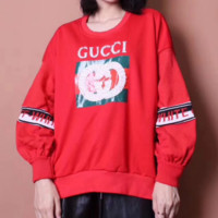 GUCCI Sequins embroidery Long Sleeve Women Sweater