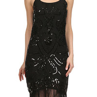 On The Fringe Gatsby Girl Flapper Dress