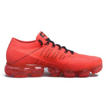 Nike Air Max VaporMax Flyknit Men Women Running Shoes Red G-FEU-SY