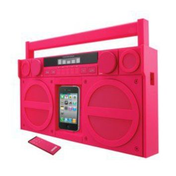 Item:  iHome Portable FM Stereo Boombox for iPod/iPhone - Pink (iP4PZ)