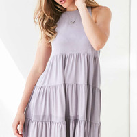 Silence + Noise Lidia Tiered Knit Mini Dress - Urban Outfitters