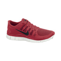 Nike Free 5.0+ Men's Running Shoes - Light Crimson