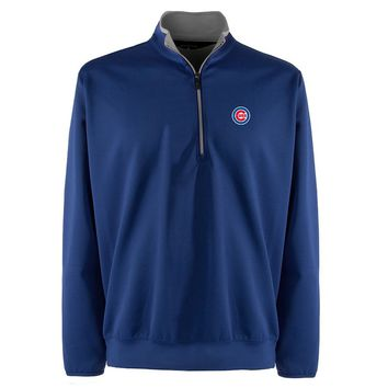 Chicago Cubs 1/4-Zip Leader Pullover
