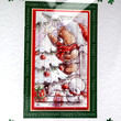 Christmas Card - Seasons Greetings Hand-Crafted 3D Layered Card - Seasons Greetings (1771)