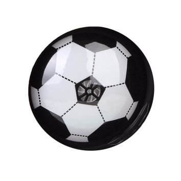 Colorful LED Light Electric Suspended Game Lighting Air Cushion Football Indoor Sports Toys Gift Children Kids Students New