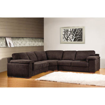 Allnat Furniture Left Facing Sectional Sofa | Wayfair