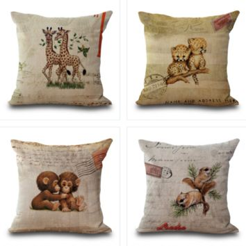 Baby Animal Pillow Cases