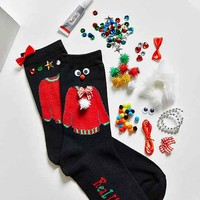 DIY Ugly Sweater Sock Kit