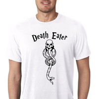 Harry Potter // Hogwarts //  Death Eater // Mens T-Shirt / Multi Colors and Sizes Available  Womens T-Shirt