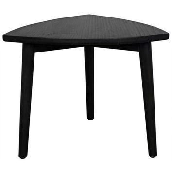 Small Quint Coffee Table, Charcoal Black