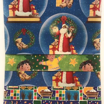 Christmas Wrapping Paper - African American