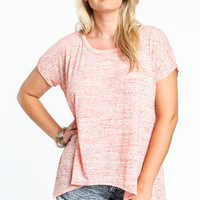 PLUS SIZE GRADIENT T-SHIRT