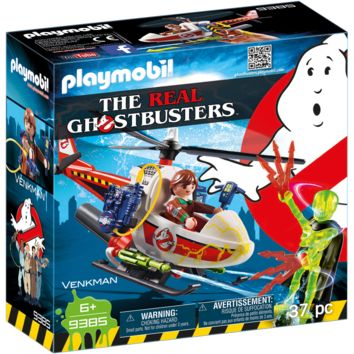 Playmobil 9385 Venkman with Helicopter