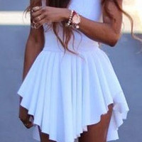 Ninette-Lovely White Dress