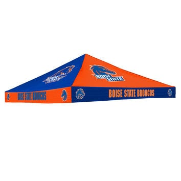 Boise State Broncos NCAA  9' x 9' Checkerboard Color Tailgate Tent Canopy Top