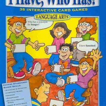 I Have, Who Has? Language Arts 3-4 (I Have, Who Has?): I Have, Who Has? Language Arts 3-4